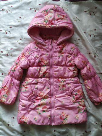 Куртка пальто на девочку 2-4 года