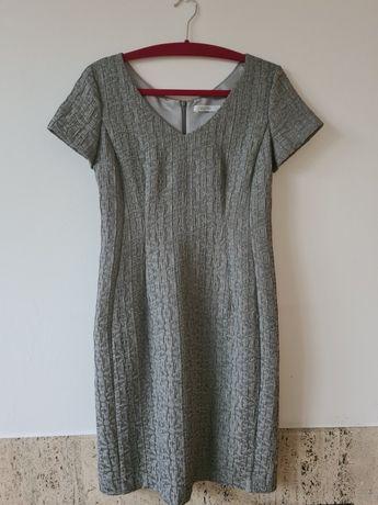 Sukienka Taranko srebrna 38