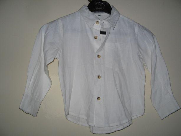 Camisa 100% algodão tamanho 98 para 3 anos, nova nunca usada