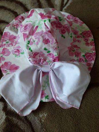 Шляпка,панамка для девочки 6- 8 лет