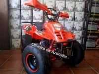 Moto 4 125 motor 4 tempos para adolescentes