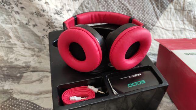 Навушники-портативная колонка Sodo MH2