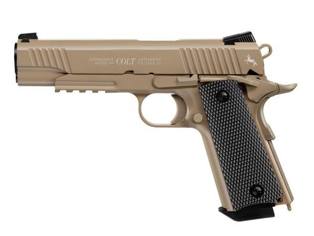 Pistolet wiatrówka Colt M45 CQBP piaskowy 4,5 mm BB CO2