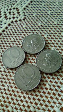 10 zł monety z czasów PR L