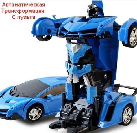 Радиоуправляемая Машинка Трансформер Lamborghini Robot Car