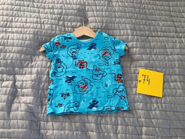 Bluzka T-shirt r. 74