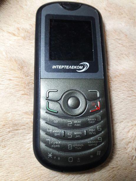 Мобильный CDMA телефон Alcatel с SIM без батареи интертелеком