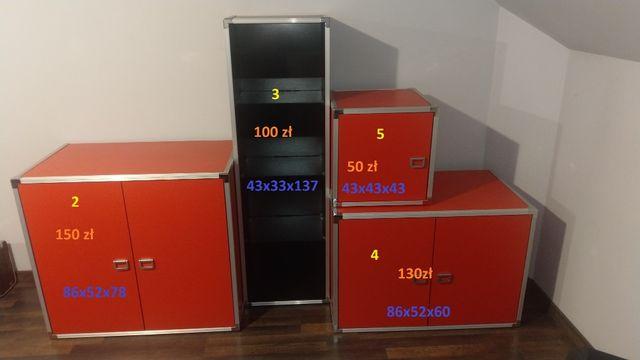 Meble VOX - Dj Metalic - komoda - biurko - łóżko - szafka - stolik RTV