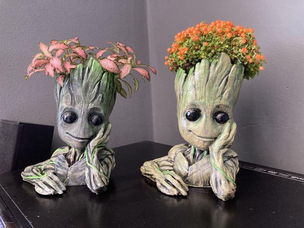 Vaso Groot com planta