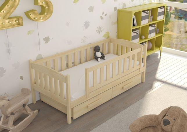 Solidne łóżeczko dla dziecka rozsuwane. Piękne kolory i wiele wymiarów