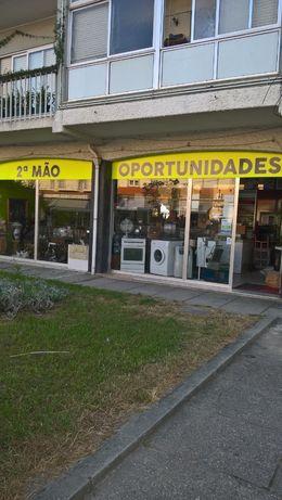 loja e armazém de mobiliário usado