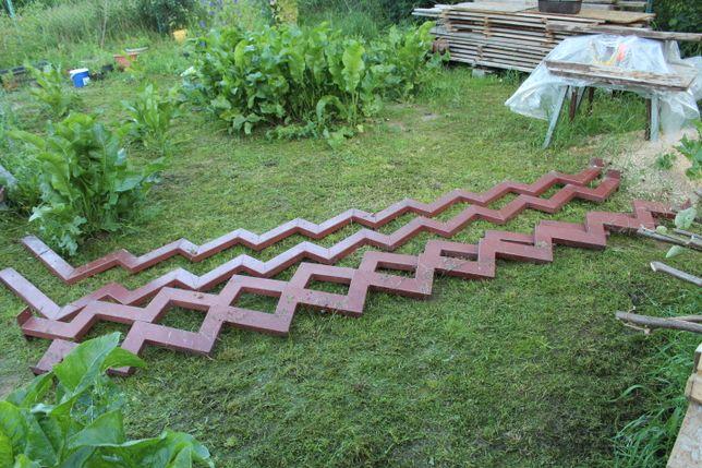 metalowe schody - wangi