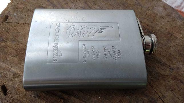 Фляга нержавейка агент 007