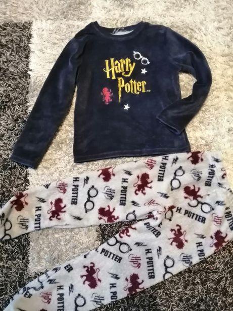 Piżama Harry Potter 9 /10 lat r. 140 dwuczęściowa Prezent dla fana
