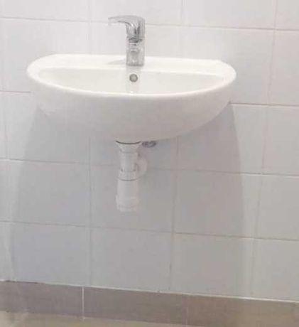 Umywalka z baterią