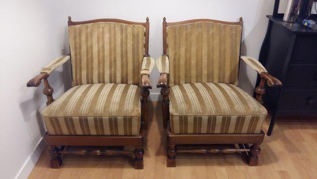 piękne fotele do renowacji