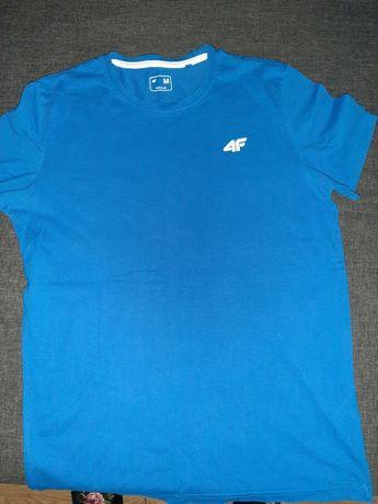Koszulka niebieska  4F