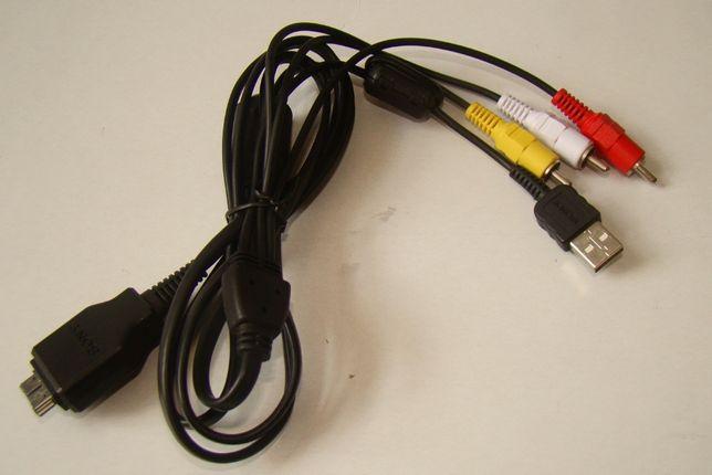 Kabel USB z AV stereo do aparatów Sony (VMC-DM2)