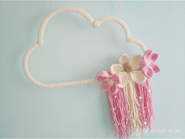 Makrama chmurka Candy Cloud szer. 40cm