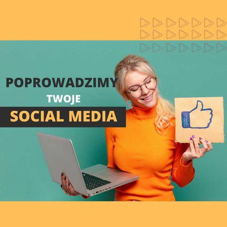 Prowadzenie Facebooka I Instagrama I Social Media I Grafika I Reklama