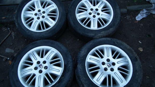 Koła felgi aluminiowe 2 opony 215/55R16 2 opony 205/55R16 lato 5x100