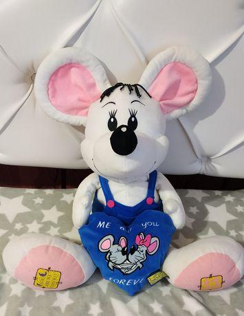 Большая мягкая игрушка мышонок