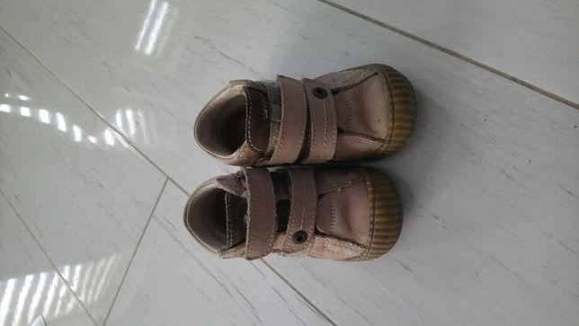 Buty skórzane Bartek rozm 20 przejściowe