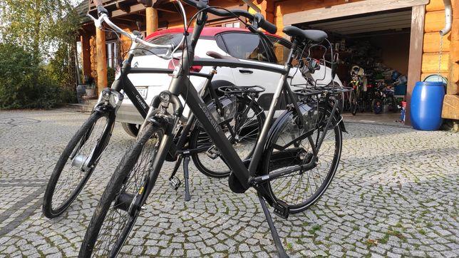 Okazja! Dwa rowery GAZELLE ORANGE 7