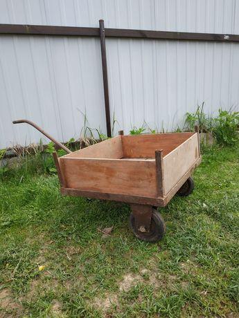 Wózek gospodarczy ogrodowy transportowy