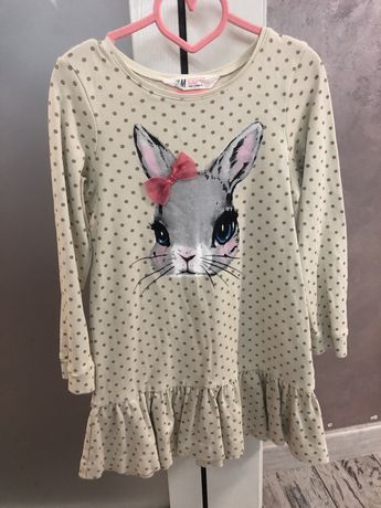 Платье для девочки,H&M 122-128см
