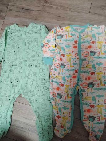 Pajacyki, piżamka chlopiece 80