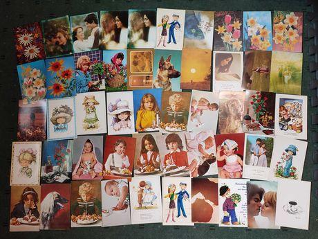 Lote 110 postais Figurativos Não Circulados