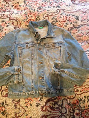 Джинсовая куртка на мальчика Beneton