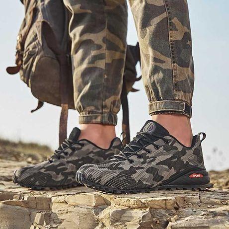 Кроссовки камуфляж осенние размер 43 - 44 стелька 27.5 см.
