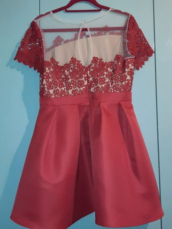 Super czerwona sukienka roz.42
