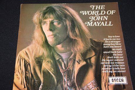 LP The World Of John Mayall - Decca 1966/69