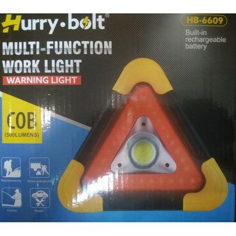 Светодиодный фонарь с аварийным освещением HB-6609