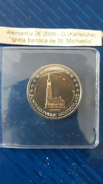 2 Euros Alemanha 2008 G