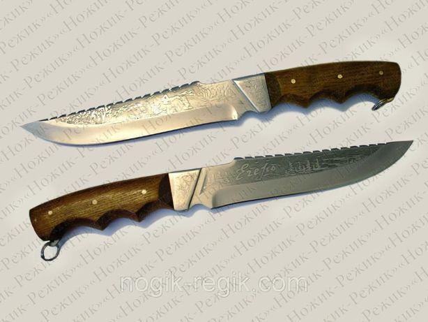 Цельнометаллический нож Егерь, магазин ножей, нож АТО