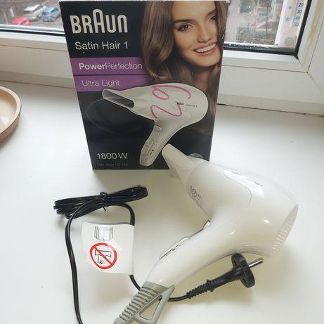 новый дорожный Braun фен satin hair 1
