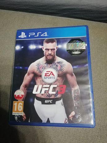 UFC 3 gra na PS4 stan idealny