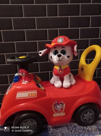 Jeździk Psi Patrol
