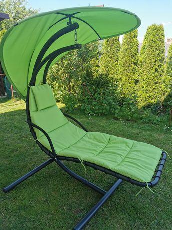 Leżak fotel wiszący ogrodowy leżanka