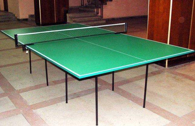 Теннисный стол разборный 274 х 152.5 х 76 см, толщина 18 мм!