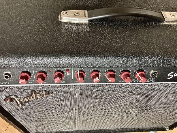 Полностью ламповый комбик Fender Amp super 112 USA California