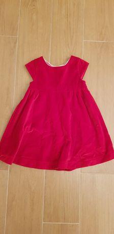 Piękna sukienka firmy OKAIDI, rozm 86