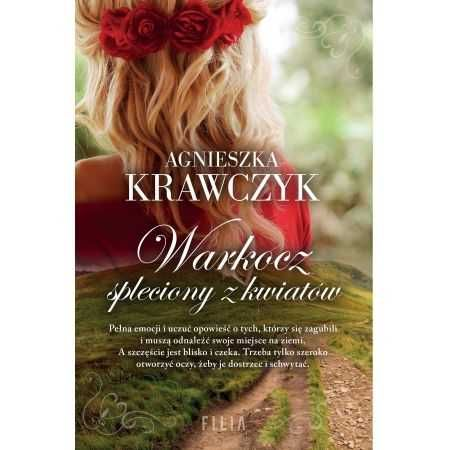 Agnieszka Krawczyk Warkocz spleciony z kwiatów
