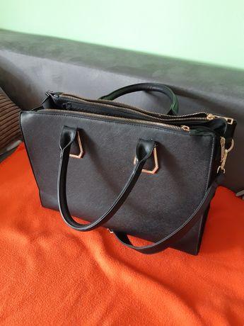 torebka duża czarna