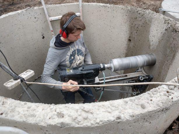 Алмазное сверление, бурение сверление в бетоне,вентиляция