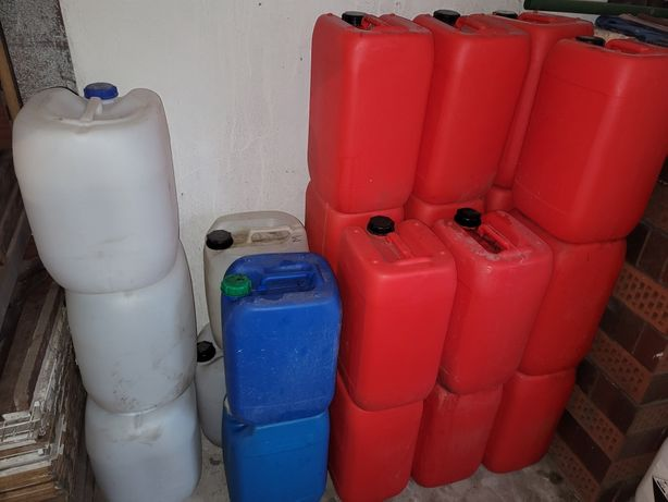 Kanister baniak bańka zbiornik pojemnik na wodę ropę 25l